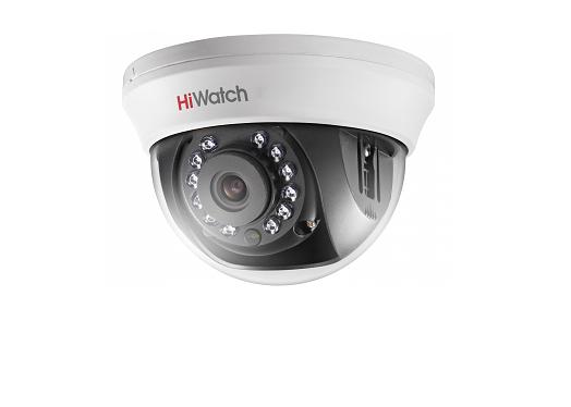 Купольная HD-TVI видеокамера с ИК-подсветкой до 20м