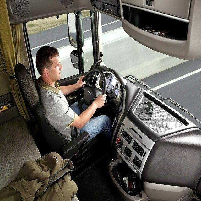Наблюдение за водителем
