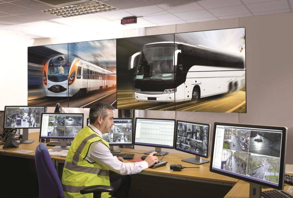 Видеонаблюдение за транспортом