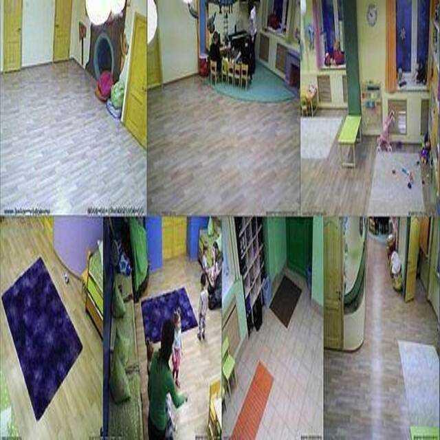 Видеонаблюдение в детском саду за детьми