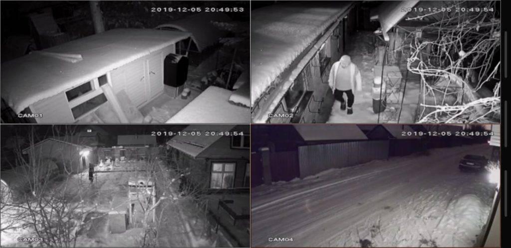 комплект видеонаблюдения в дом в Уфе