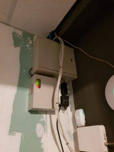 Видеонаблюдение шкаф