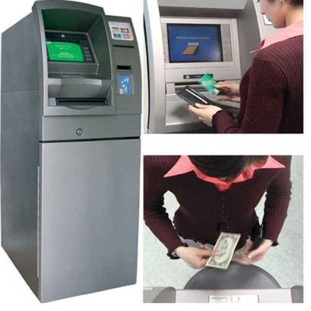 Видеонаблюдение банкоматов