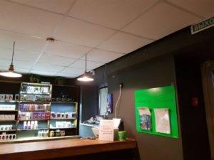 Видеонаблюдение камера кафе