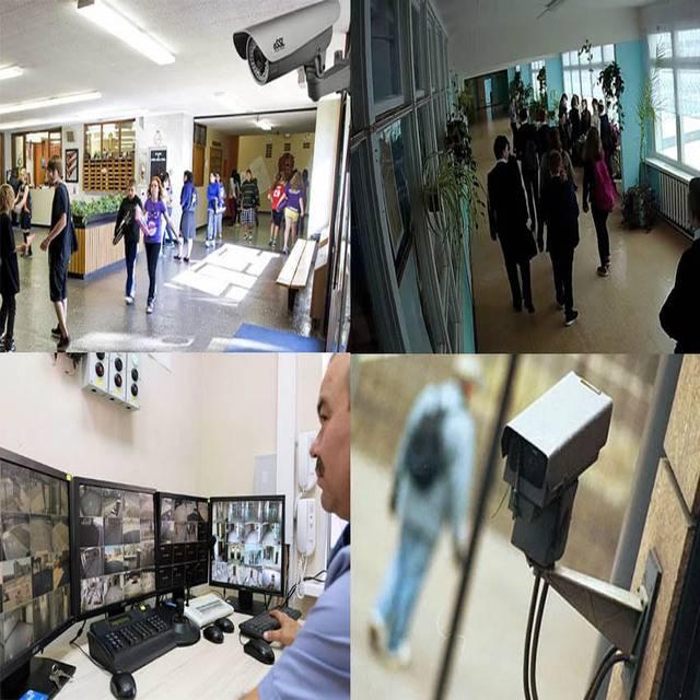Видеонаблюдение в школе за детьми