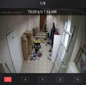 Установка камеры в коридоре предприятия