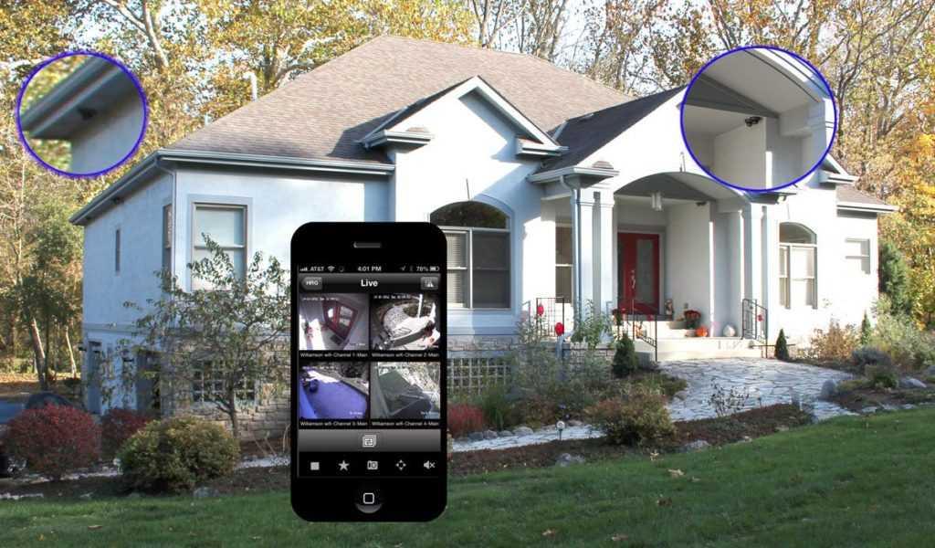 Удаленное видеонаблюдение дома и дачи