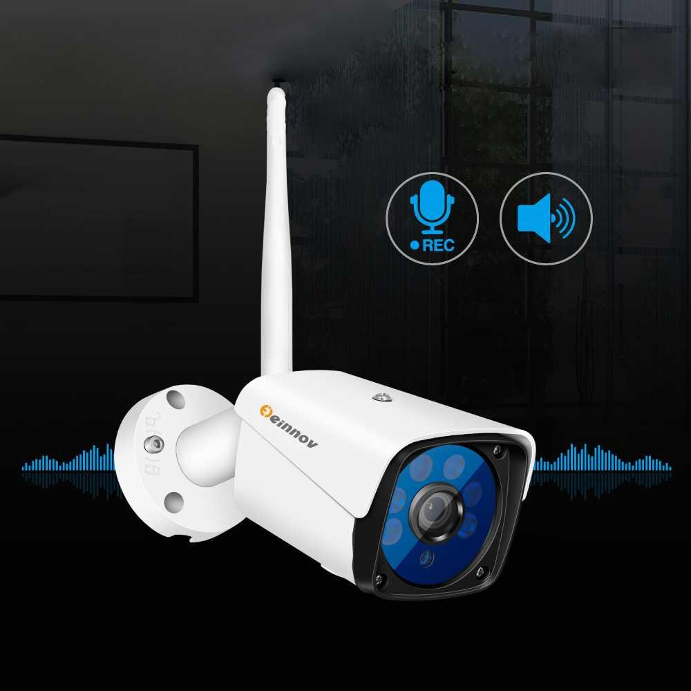 Установка видеонаблюдения со звуком