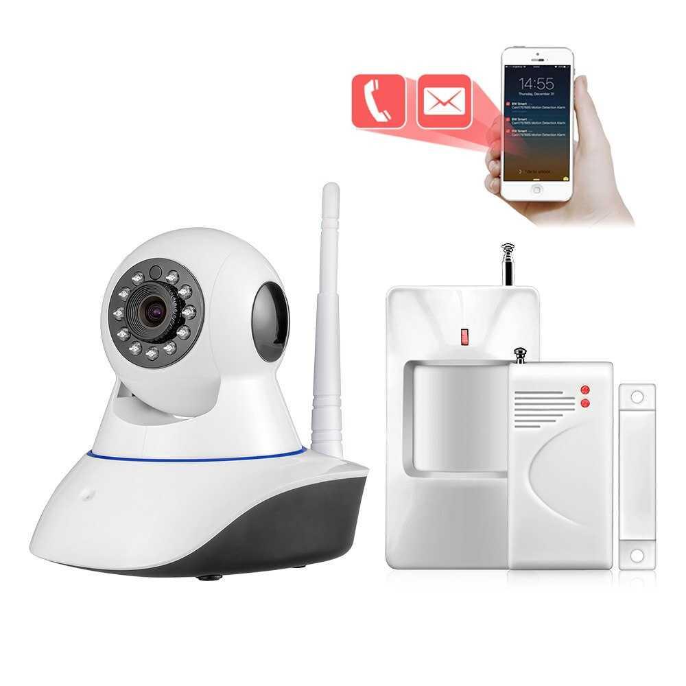 Беспроводные камеры видеонаблюдения WiFi с датчиком движения