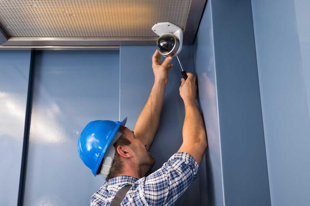 Видеонаблюдение в лифте многоквартирного дома