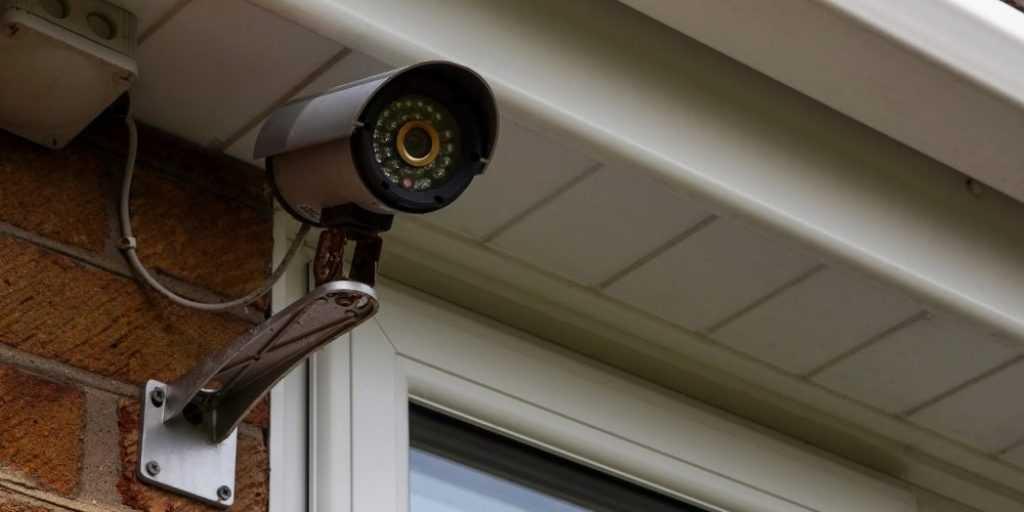 Установка уличных аналоговых камер видеонаблюдения