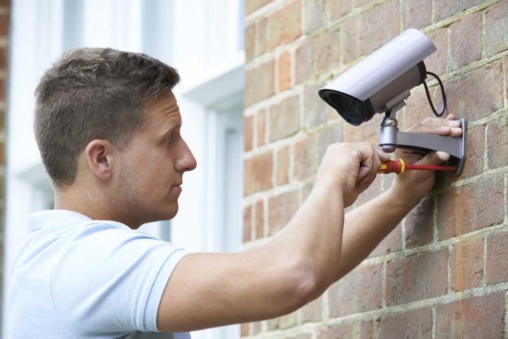 Установка камер видеонаблюдения в многоквартирном доме