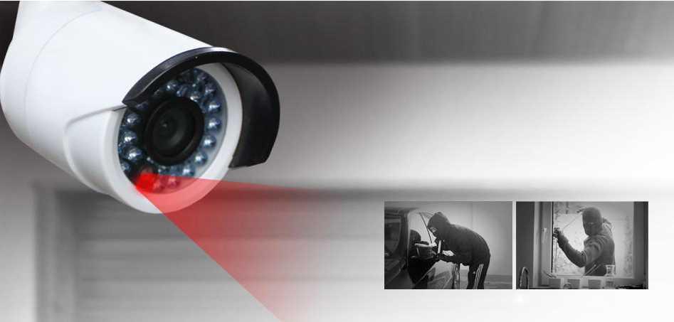 Установка видеонаблюдения AHD аналогового