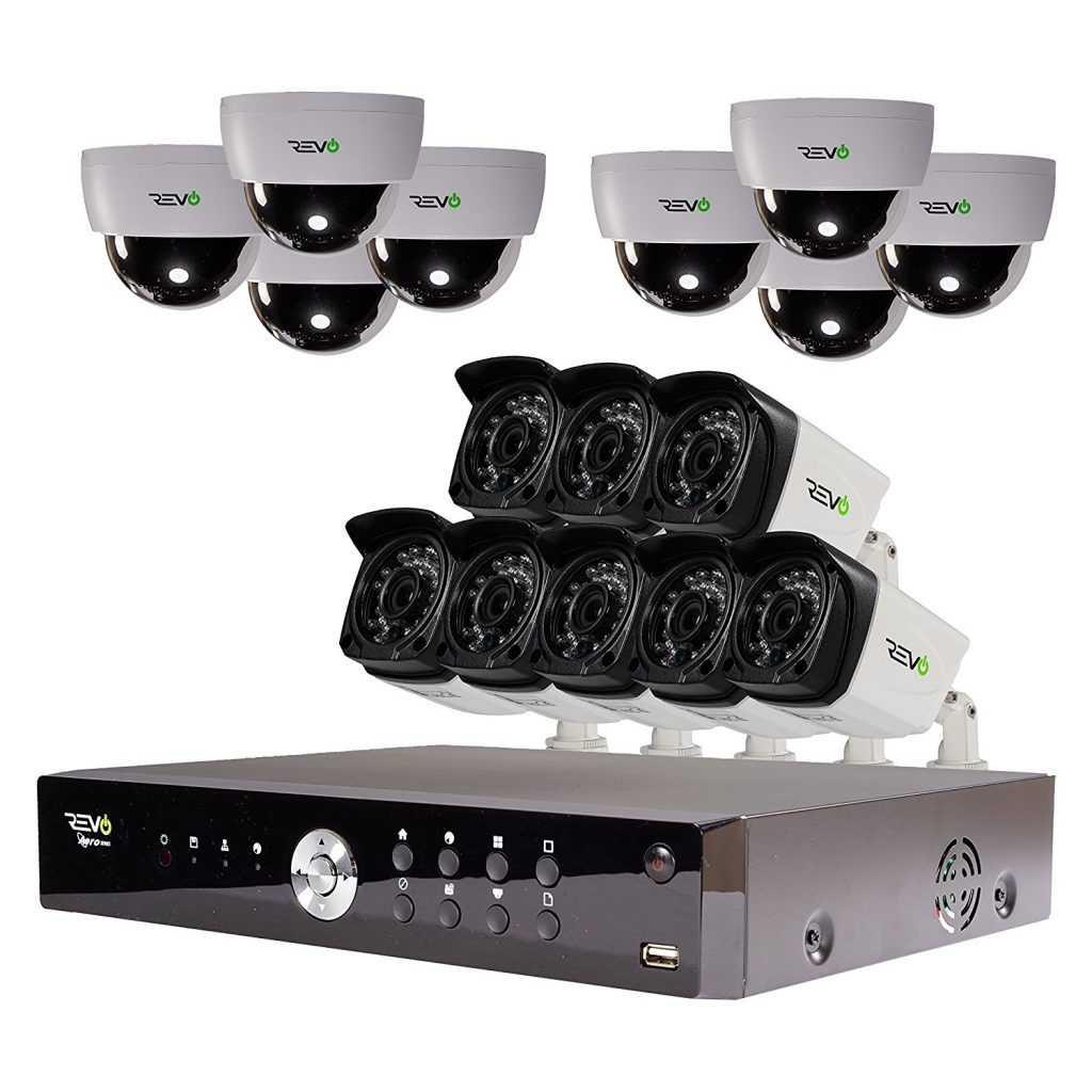 Установка видеонаблюдения на 16 камер