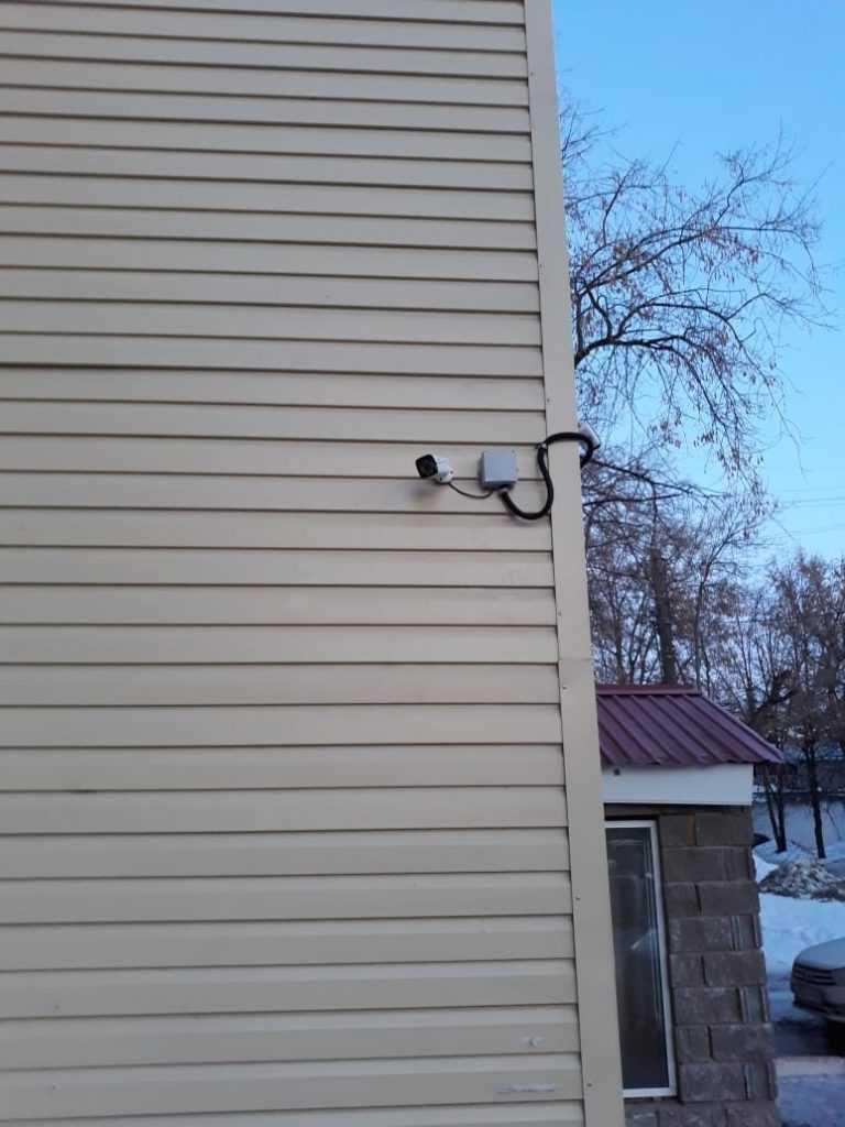 Уличные камеры видеонаблюдения для офиса