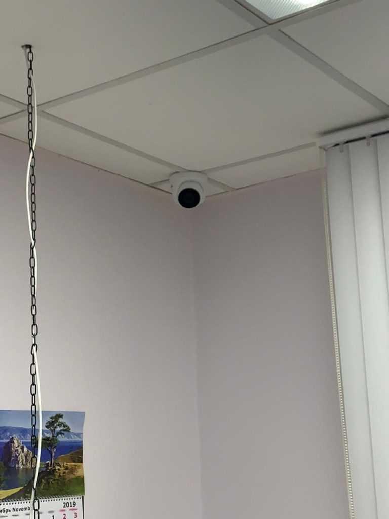 Камеры видеонаблюдения для офиса в Москве