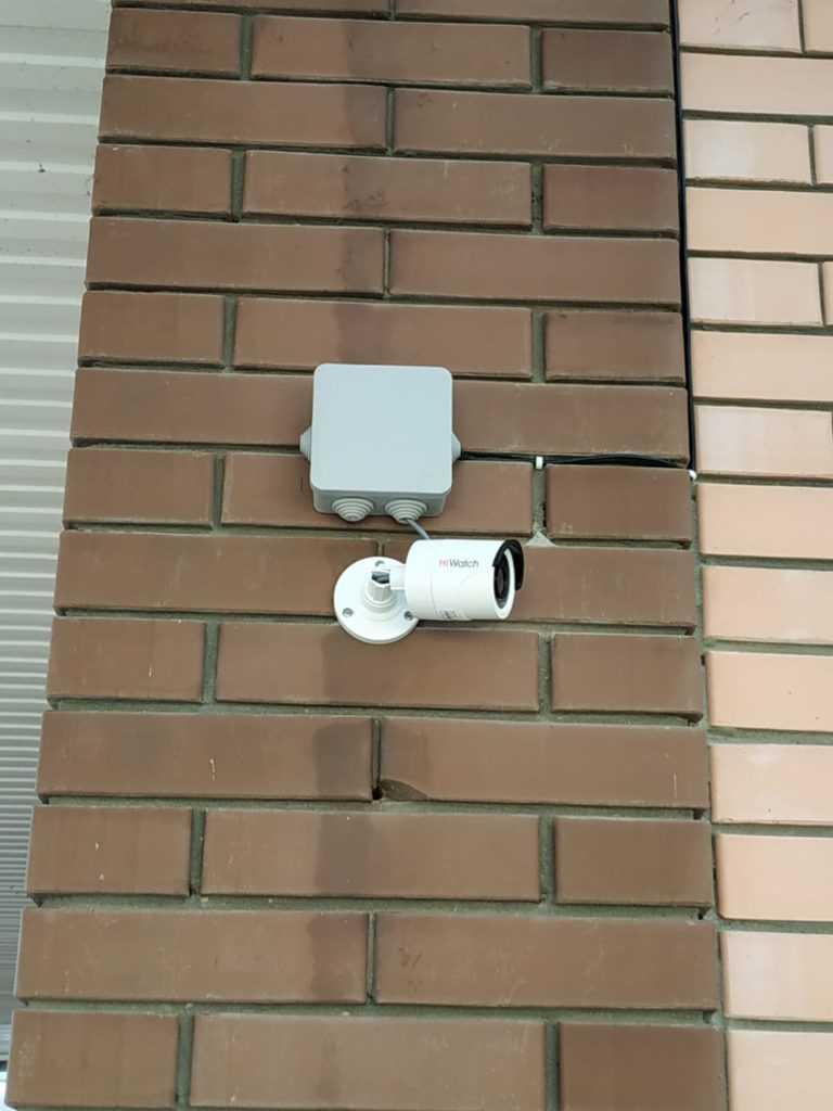 Видеонаблюдение в частный дом в Краснодаре