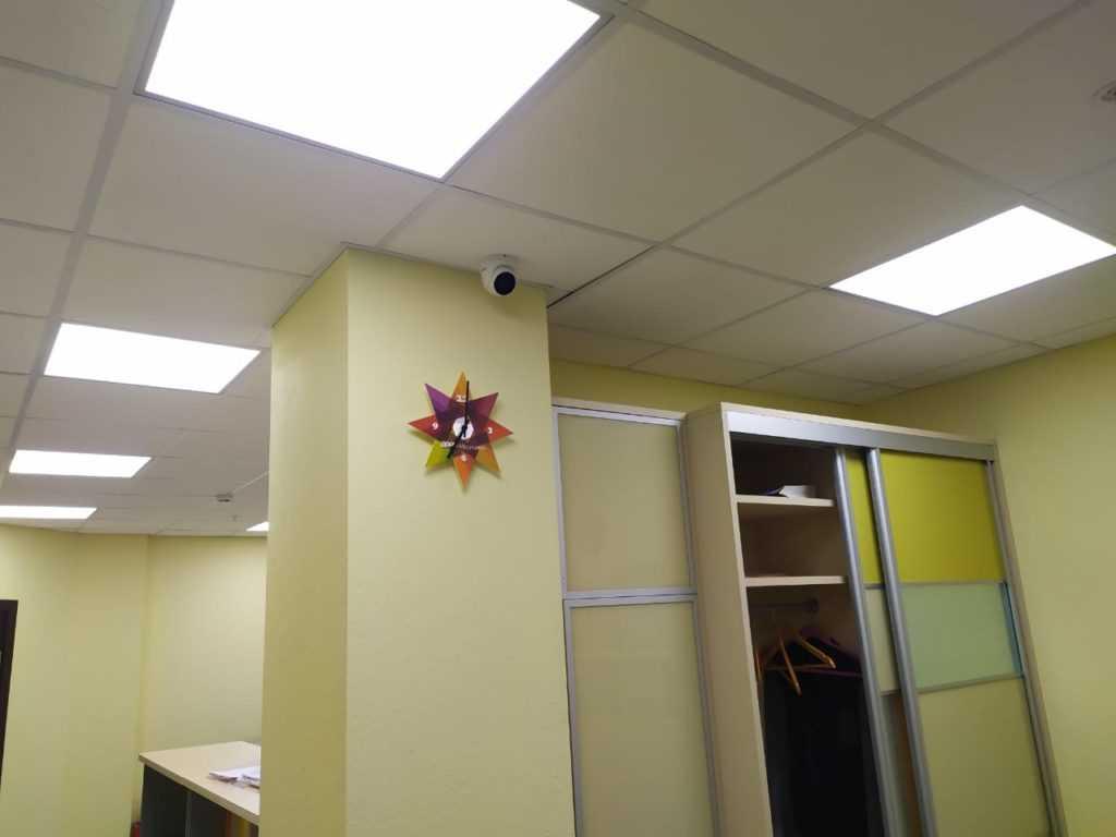 Камера видеонаблюдение в офисе в Новосибирске