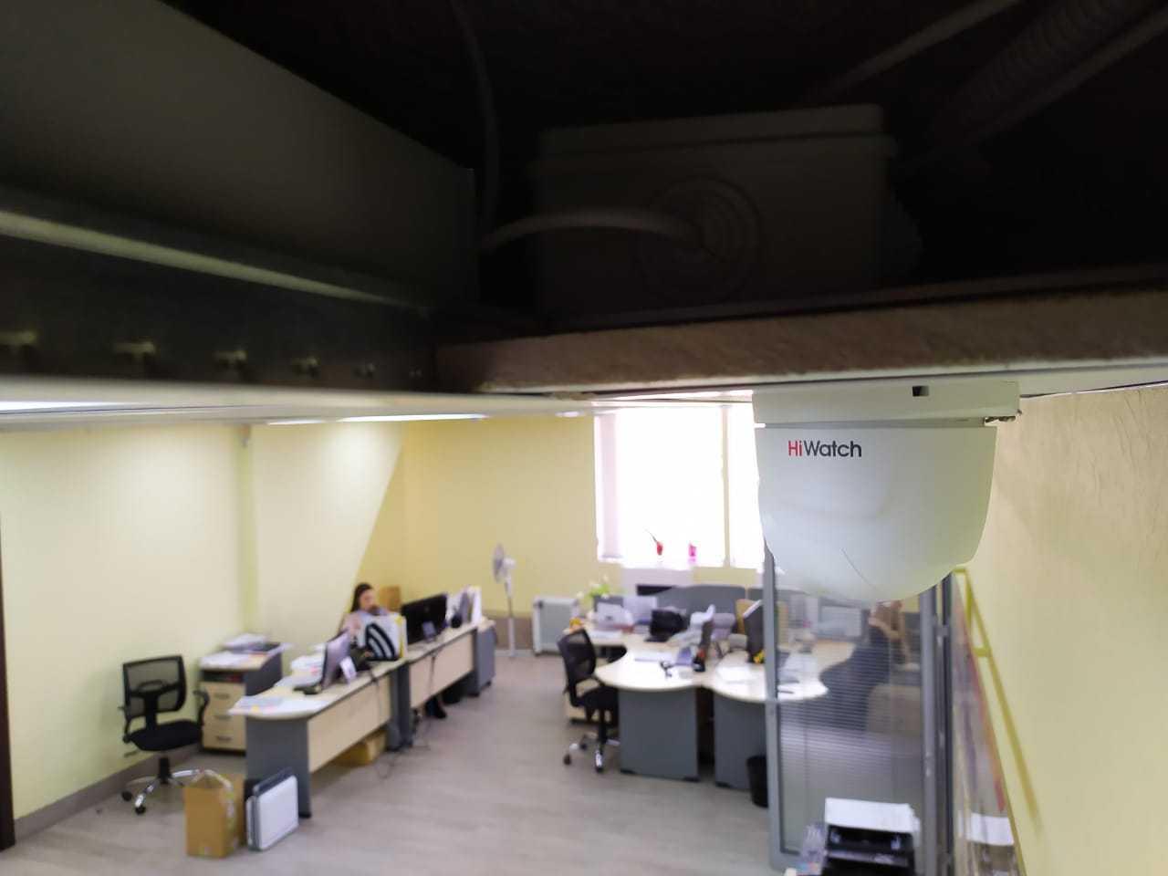 видеонаблюдение в офисе в Новосибирске