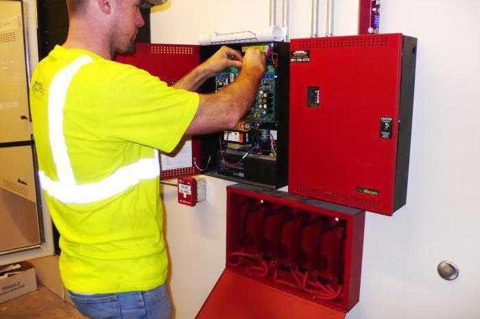Монтаж охранно-пожарной сигнализации (ОПС)