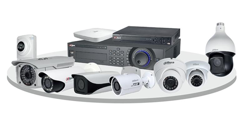 Комплектация системы видеонаблюдения