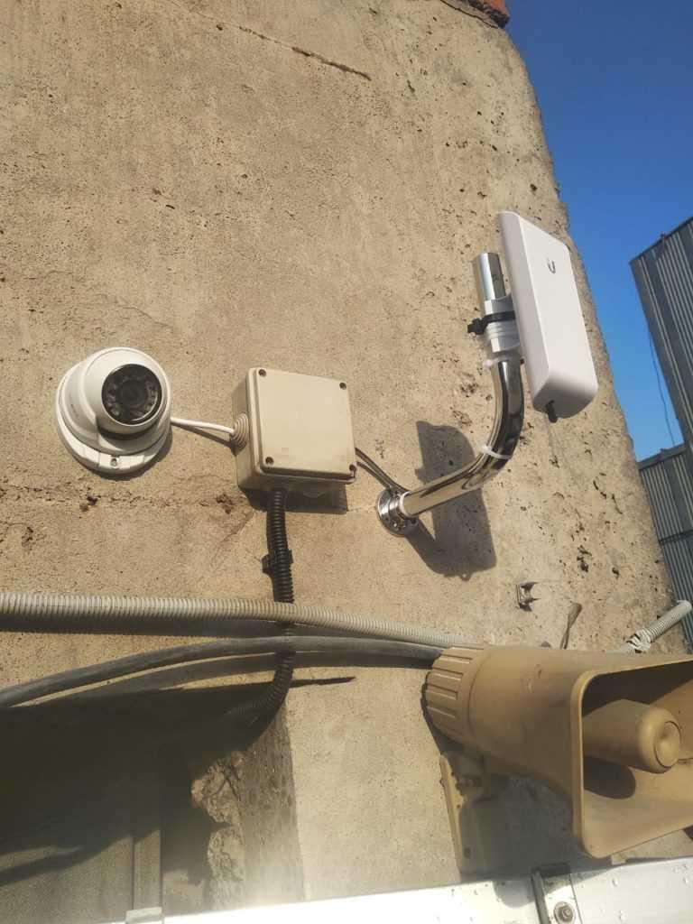 Камера видеонаблюдения с точкой доступа