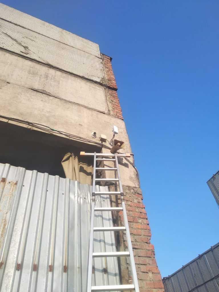 Установка видеонаблюдения 5 м