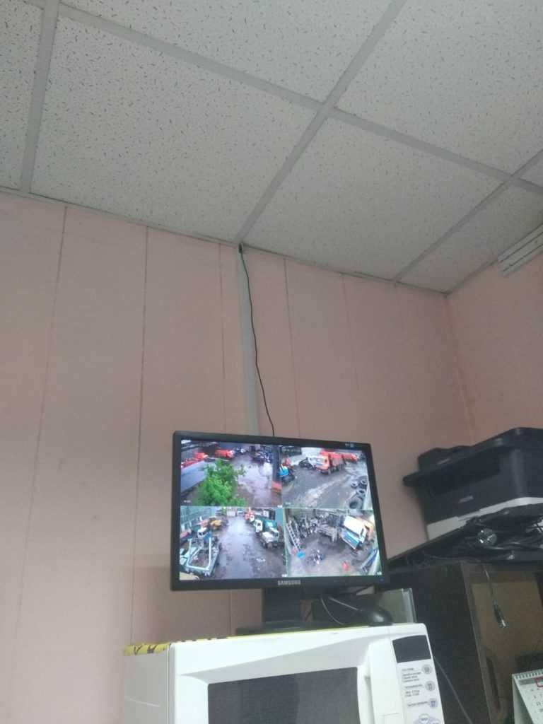 Мониторинг видеонаблюдение