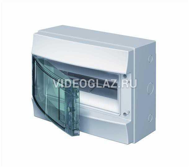 ABB Mistral65 Бокс навесной 12М прозрачная дверь (с клемм) (1SLM006501A1202)