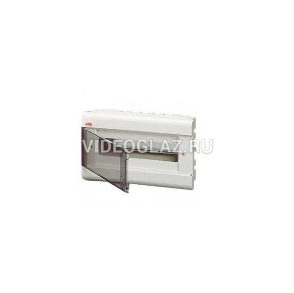 ABB Europa Бокс встраиваемый белый 12мод. с дымчатой дв. IP40 (1SL2061A00)