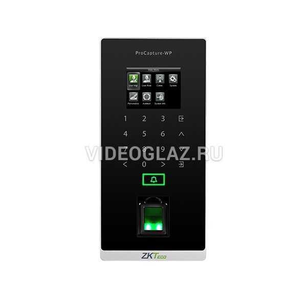ZKTeco ProCapture-WP(Standalone Fingerprint Access Control)