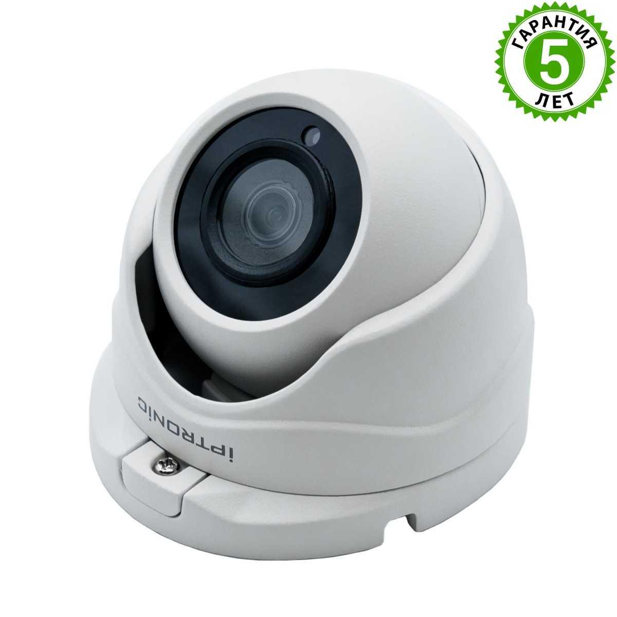 Видеокамера IPTRONIC IPT-IPL720DM(3,6)PA