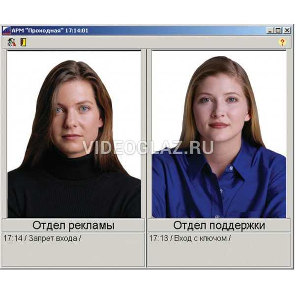 КОДОС Комплект ПО «Проходная+»