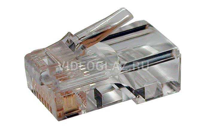Hyperline PLUG-8P8C-U-C5-100