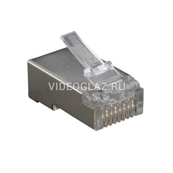 Hyperline PLUG-8P8C-U-C6-SH-100