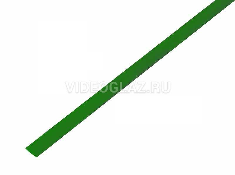 REXANT 6. 0 / 3. 0 мм 1м термоусадка зеленая (20-6003)