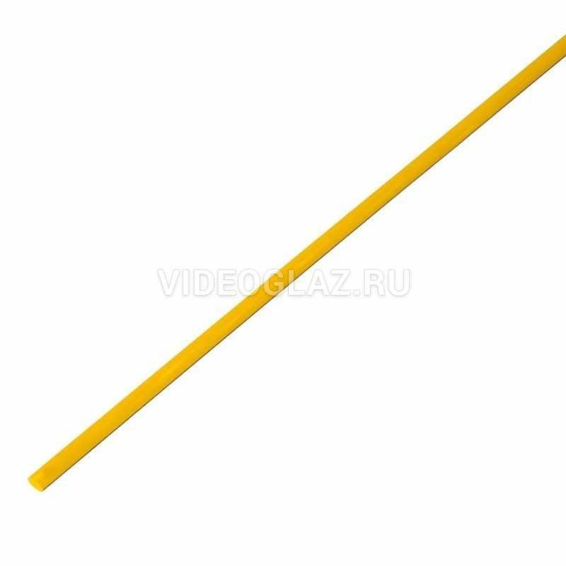 REXANT 2.0 / 1.0 мм 1м термоусадка желтая (20-2002)