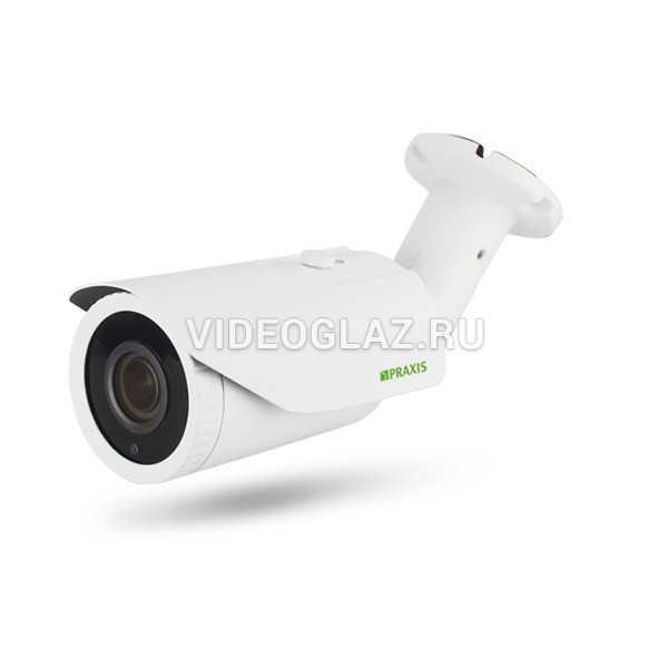 Видеокамера Praxis PB-7143IP 2.8-12 A/SD