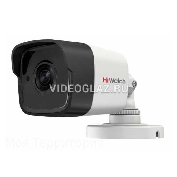 Видеокамера HiWatch DS-T500 (B) (2.8 mm)