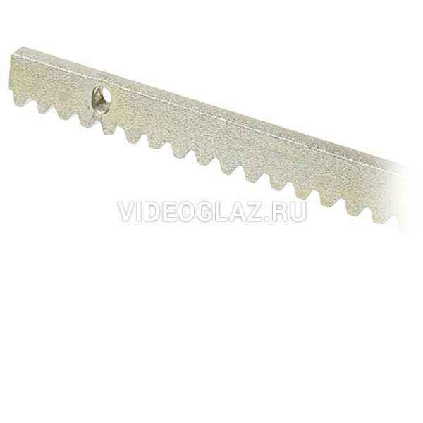 FAAC Рейка зубчатая оцинкованная 30х12х1000 мм (490122/1)