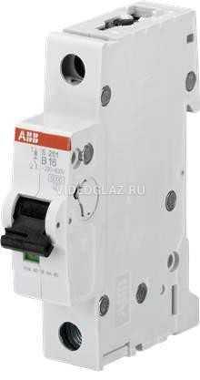 ABB S201 Автоматический выключатель 1P 63А (С) 6kA (2CDS251001R0634)