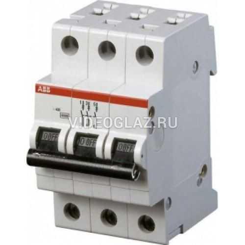 ABB SH203L Автоматический выключатель 3P 63А (С) 4,5 kA (2CDS243001R0634)