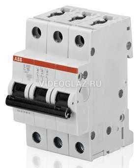 ABB S203 Автоматический выключатель 3P 20А (С) 6kA (2CDS253001R0204)