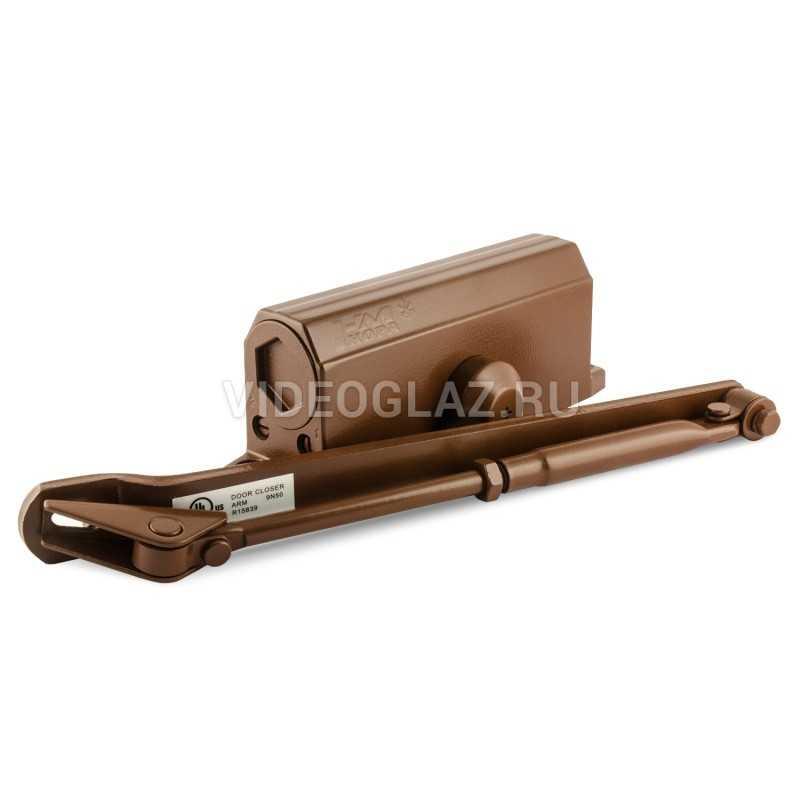 Нора-М Доводчик №3S большой (до 80кг) (коричневый)