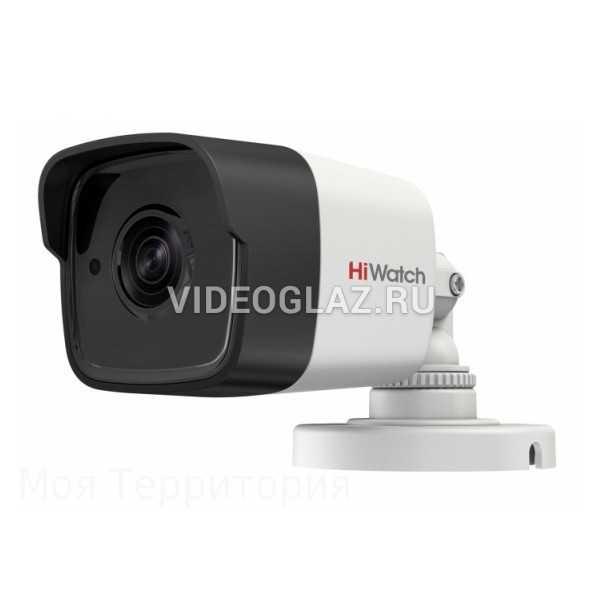 Видеокамера HiWatch DS-T500 (B) (6 mm)