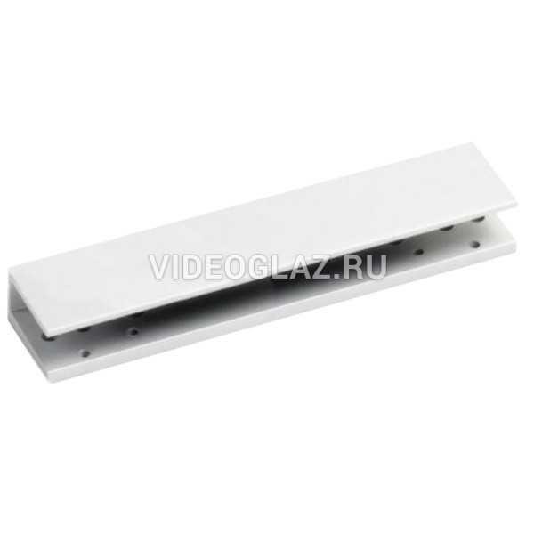 Dorma Пластина для установки TS92 на цельностеклянную дверь серый(42000101)