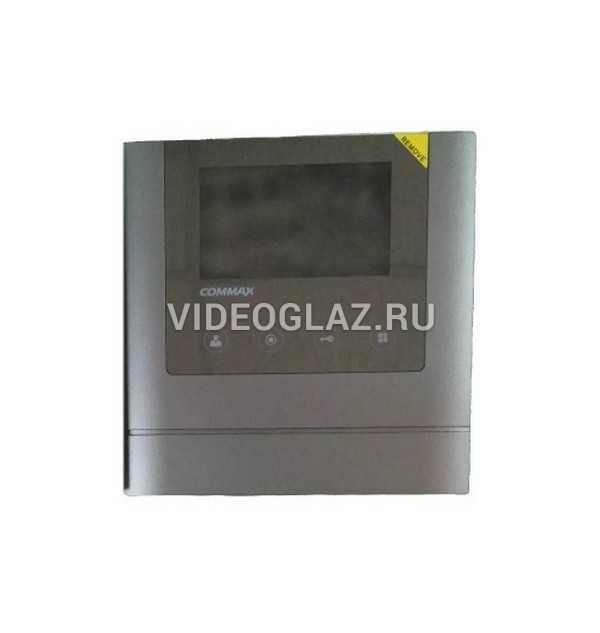 Commax CDV-43M(Mirror) темно-серый