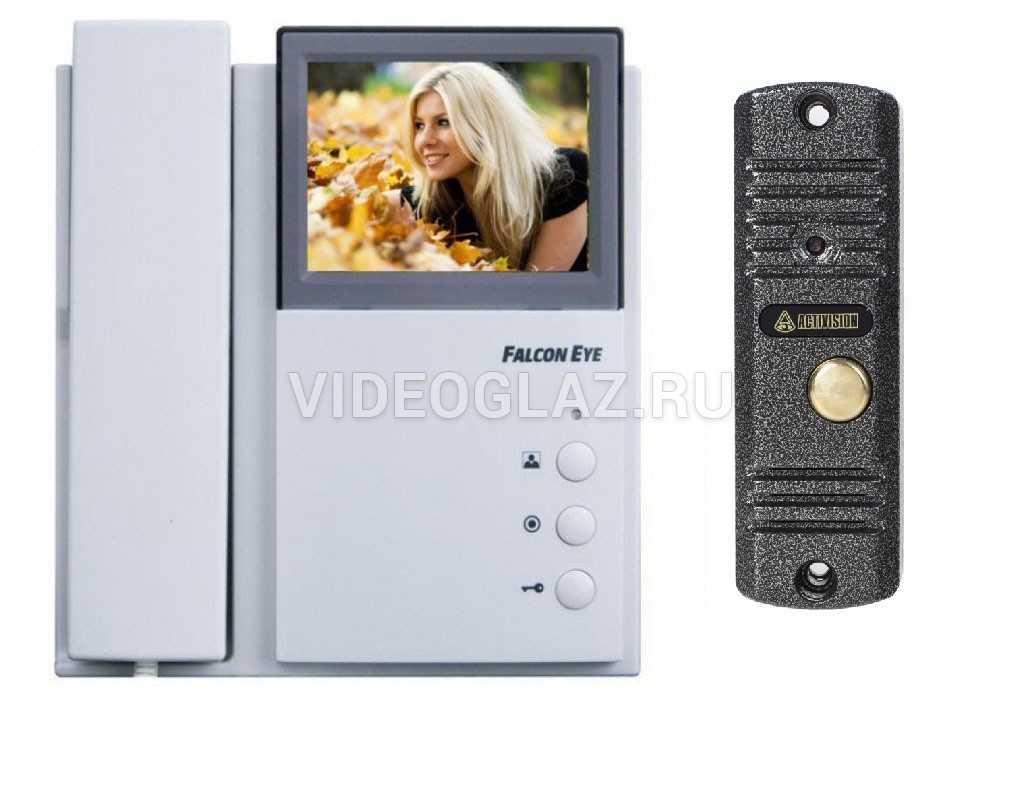 Falcon Eye Комплект видеодомофона FE-4CHP2 + AVC-305 (PAL) Антик
