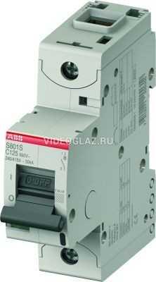 ABB S801S Автоматический выключатель 1P 6A (C) (2CCS861001R0064)