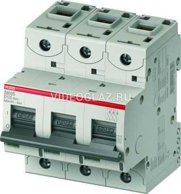 ABB S803C Автоматический выключатель 3P 32A (D) (2CCS883001R0321)